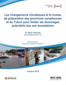 French cover of Preparedness of Provinces report