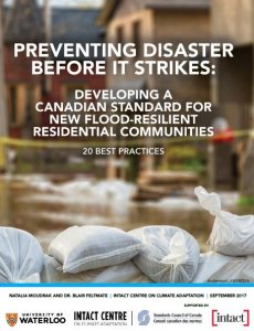 "Front Cover of Report ""Preventing Disaster Before it Strikes"""