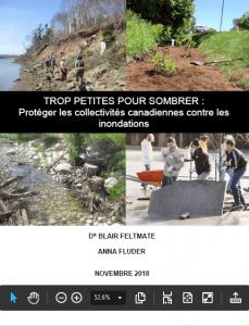 La couverture d'un rapport du Centre Intact