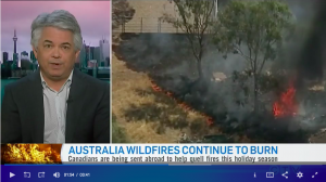 Blair Feltmate discusses wild fires in Australia